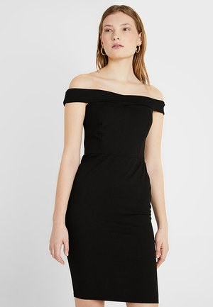 BARDOT BODYCON DRESS - Etuikjole - black