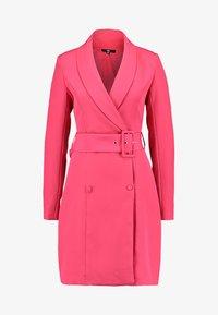 Missguided Tall - SHELL BELT DRESS - Košilové šaty - beetroot purple - 3