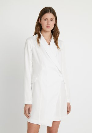 ASYMETRIC DRESS - Tubino - white