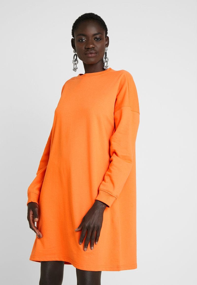 Missguided Tall - BASIC DRESS - Vapaa-ajan mekko - orange
