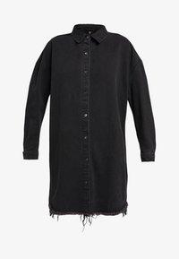 Missguided Tall - OVERSIZED - Košile - black - 4