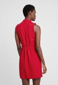 Missguided Tall - SLEEVELESS BLAZER DRESS - Robe fourreau - poppy red - 3