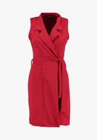 Missguided Tall - SLEEVELESS BLAZER DRESS - Robe fourreau - poppy red - 5