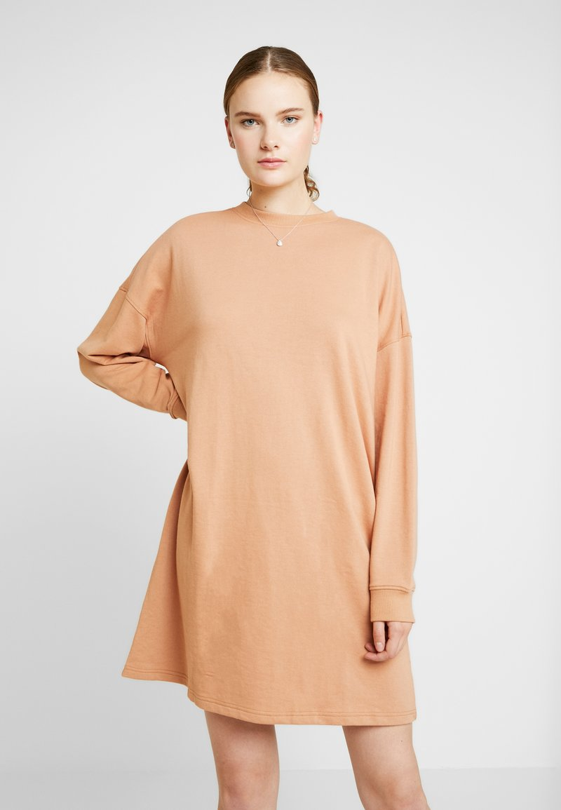 Missguided Tall - OVERSIZED DRESS - Day dress - sand