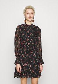 Missguided Tall - SPACE PRINT DRAWSTRING WAIST MINI DRESS - Day dress - multi-coloured - 0