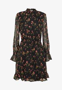 Missguided Tall - SPACE PRINT DRAWSTRING WAIST MINI DRESS - Day dress - multi-coloured - 5