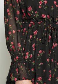 Missguided Tall - SPACE PRINT DRAWSTRING WAIST MINI DRESS - Day dress - multi-coloured - 4