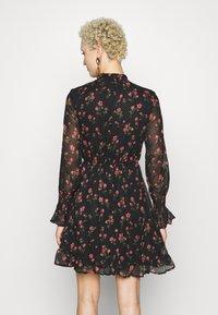 Missguided Tall - SPACE PRINT DRAWSTRING WAIST MINI DRESS - Day dress - multi-coloured - 3