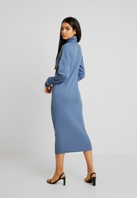 Missguided Tall - ROLL NECK MIDI DRESS - Jersey dress - blue - 2