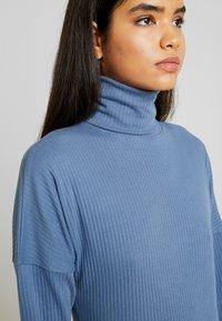 Missguided Tall - ROLL NECK MIDI DRESS - Jersey dress - blue - 4