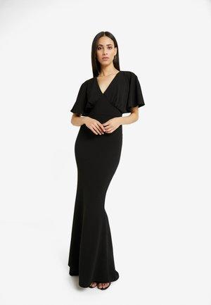 BRIDESMAID SLEEVE FISHTAIL MAXI DRESS - Robe de cocktail - black