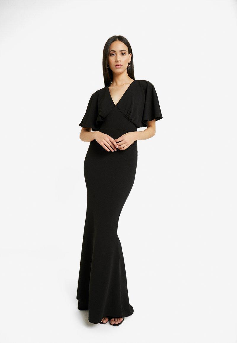 Missguided Tall - BRIDESMAID SLEEVE FISHTAIL MAXI DRESS - Festklänning - black