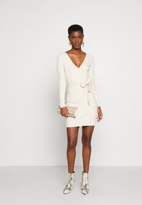 Missguided Tall - WRAP TIE BELT MINI DRESS - Robe fourreau - as per sample - 1