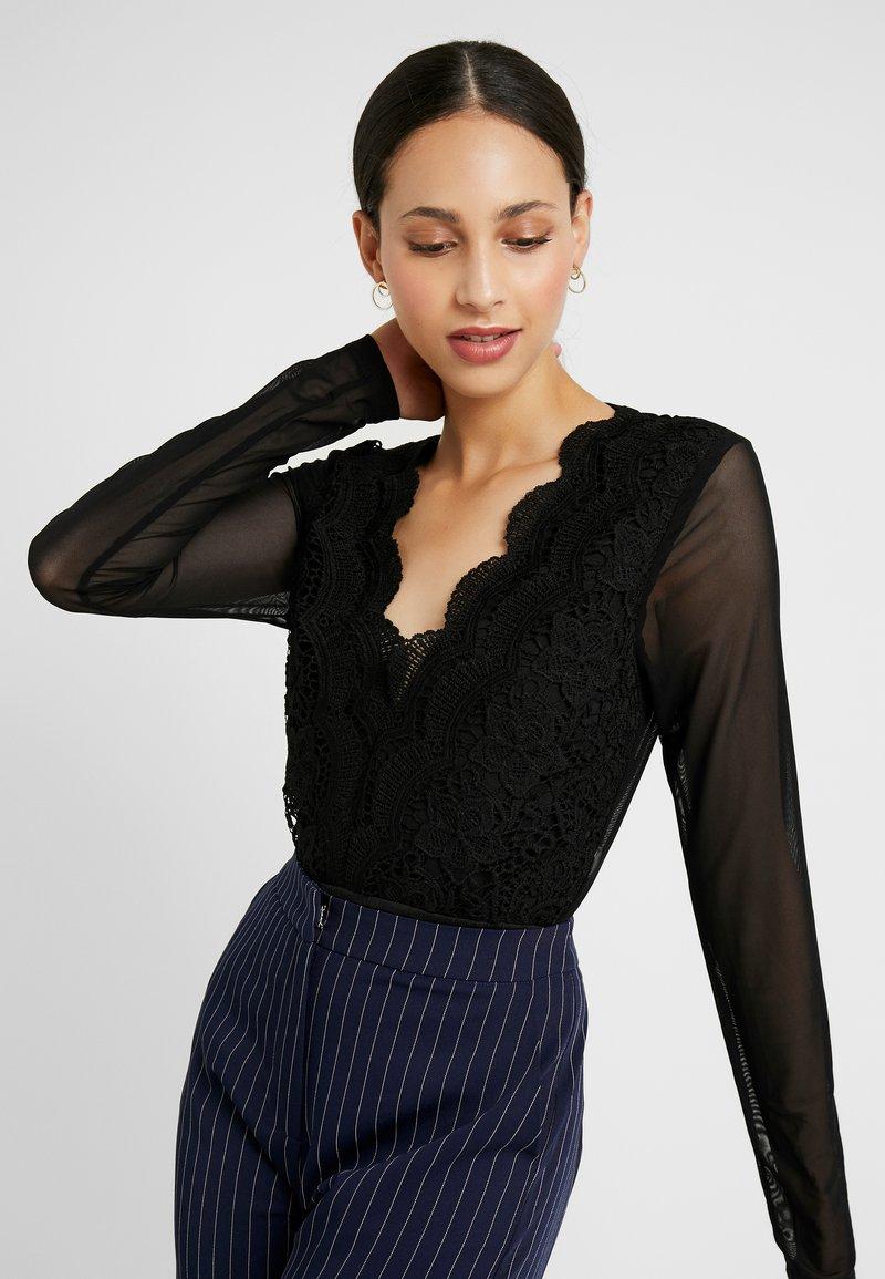 Missguided Tall - T-shirt à manches longues - black