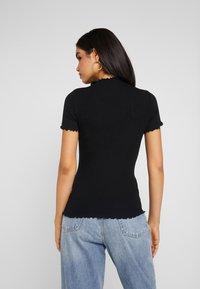 Missguided Tall - LETTUCE HEM 2 PACK - Basic T-shirt - grey/black - 2