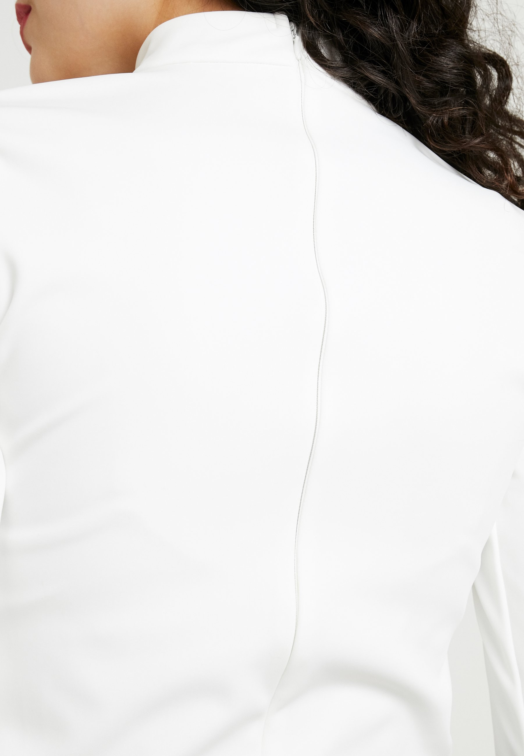 Missguided Tall SKIWEAR BODY SUIT - Bluzka z długim rękawem - white