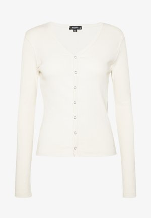 BUTTON UP LONG SLEEVED - Long sleeved top - cream