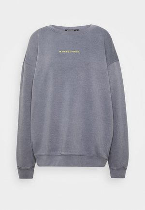 TALL WASHED  - Sweatshirt - grey