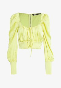 Missguided Tall - SQUARE NECK - Bluser - yellow - 0