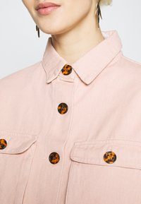Missguided Tall - WITH TORTOISE SHELL BUTTONS - Skjorte - pink - 5