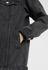 Missguided Tall - Jeansjakke - black - 5