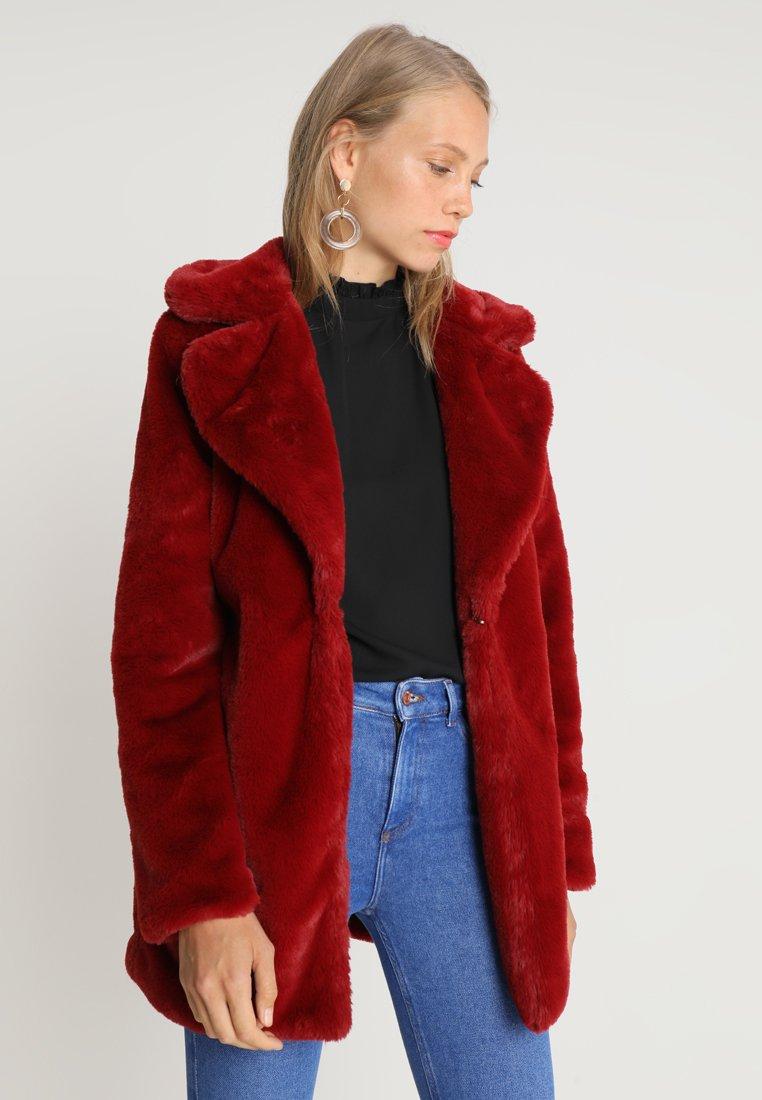 Missguided Tall - Vinterfrakker - deep red
