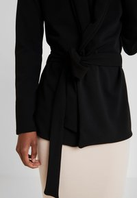 Missguided Tall - TIE WAIST - Blazer - black - 5
