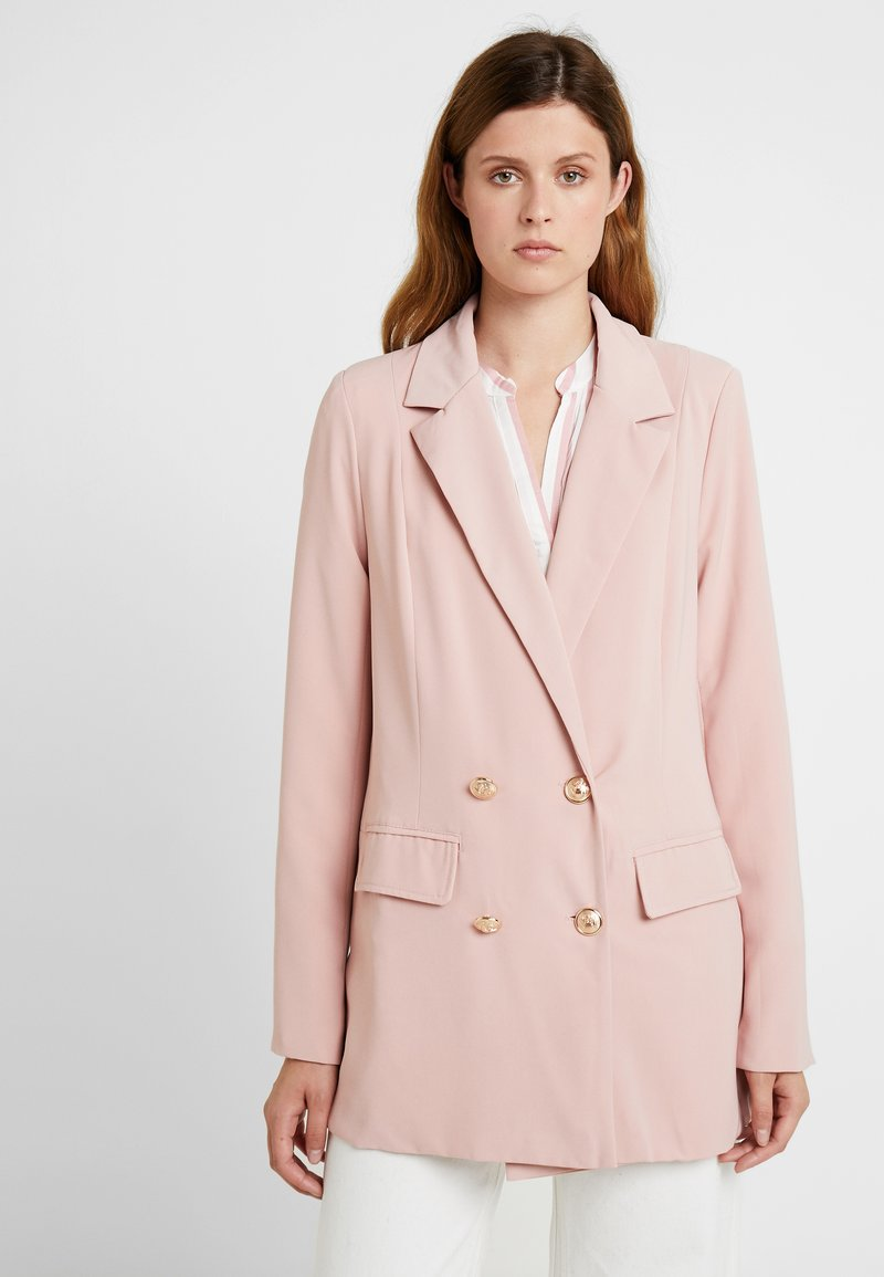 Missguided Tall - TAILORED LONGLINE - Blazer - nude