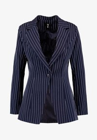 Missguided Tall - PINSTRIPE ONE BUTTON - Blazer - navy - 4