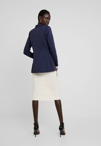 Missguided Tall - PINSTRIPE ONE BUTTON - Blazer - navy - 2