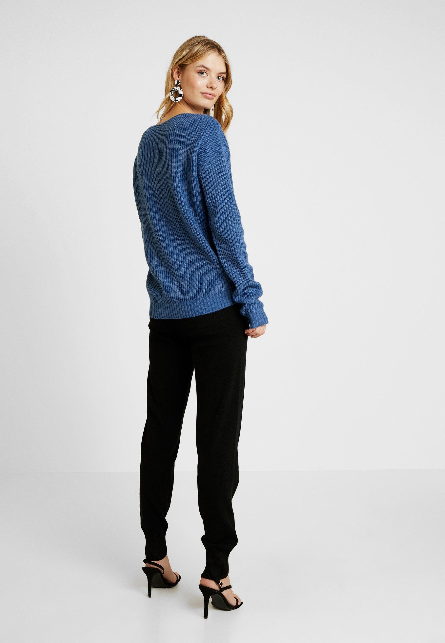 Back Tall Blue JumperPullover Missguided V 8PmyvNOn0w