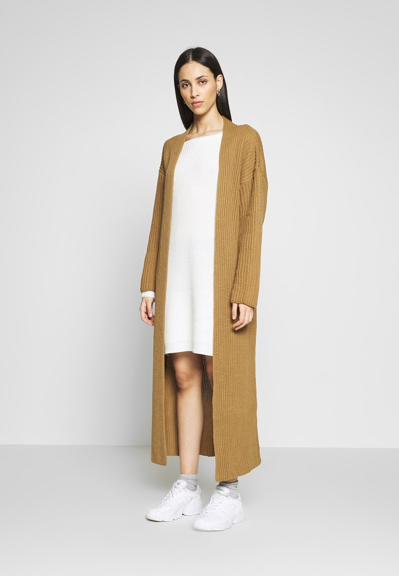 Missguided Tall - MAXI  - Vest - camel