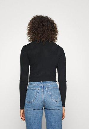 SKINNY CROPPED - Vest - black