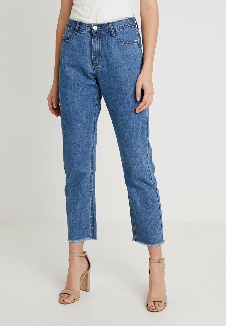 Missguided Tall - WRATH RISE CLEAN CUT VINTAGE BLUETALL - Jeans a sigaretta - vintage blue