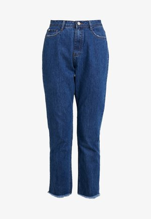 WRATH MID RISE CLEAN CUT HEM - Relaxed fit jeans - blue