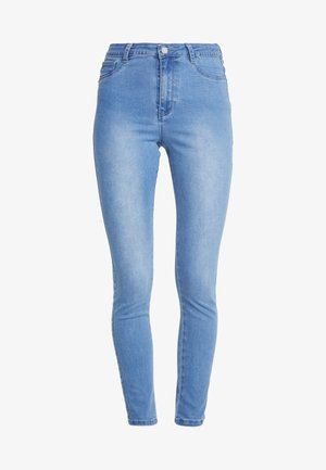 ANARCHY RISE - Jeans Skinny Fit - distressed blue
