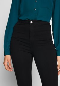 Missguided Tall - VICE HIGHWAISTED - Jeans Skinny Fit - black - 3
