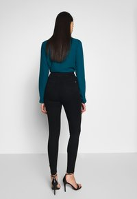 Missguided Tall - VICE HIGHWAISTED - Jeans Skinny Fit - black - 2