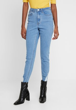 SINNER RIP HEM - Jeans Skinny Fit - light blue