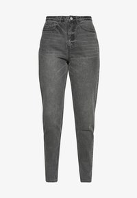 Missguided Tall - RIOT HIGH WAISTED MOM - Relaxed fit jeans - washed black - 3