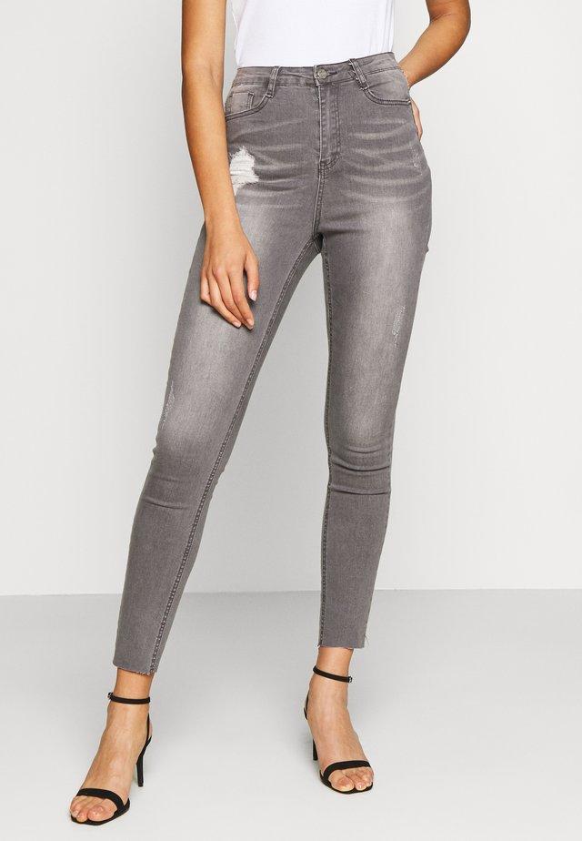 SINNER CLEAN DISTRESSED  - Jeans Skinny - grey