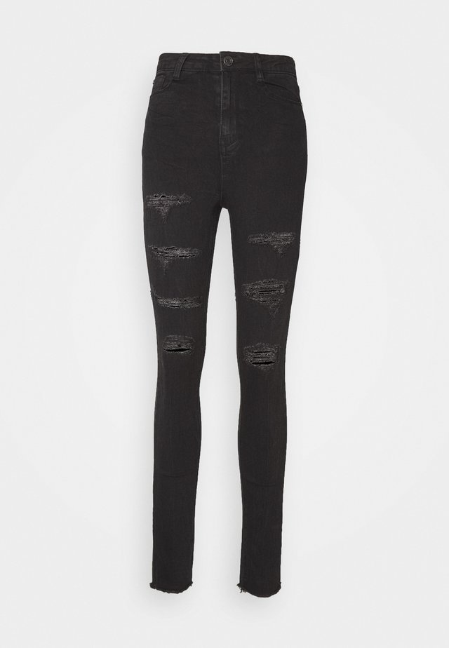 SINNER EXTREME RIP - Jeans Skinny Fit - black