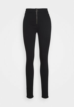 RING ZIP OUTLAW JEGGING - Jeans Skinny Fit - black