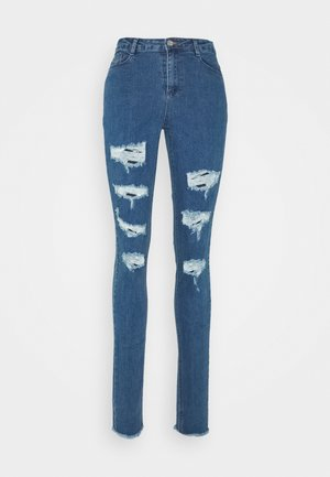 SINNER HIGHWAISTED EXTREME  - Skinny-Farkut - mid wash blue