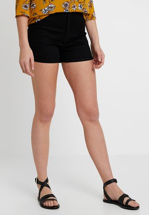 VICE HIGH WAISTED BLACKTALL - Jeansshort - black