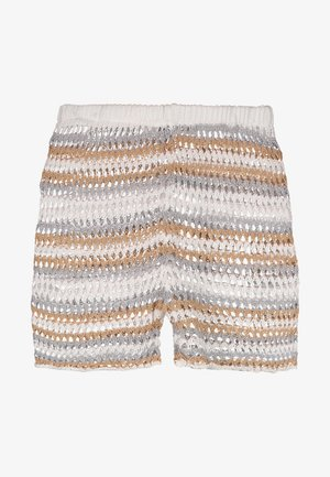 RAINBOW STRIPE CROCHET - Shorts - multi-coloured