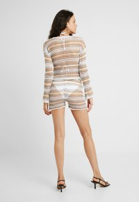Missguided Tall - RAINBOW STRIPE CROCHET - Shorts - multi-coloured - 2