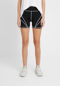 Missguided Tall - PANEL CYCLING - Shorts - black - 0