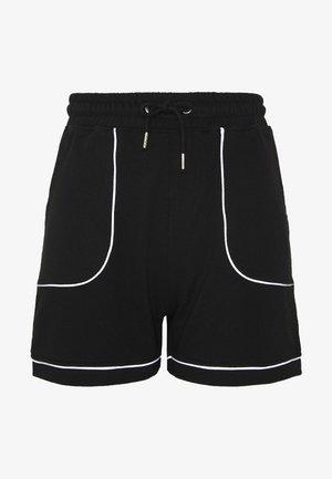 REFLECTIVE TRIM RUNNER - Shorts - black