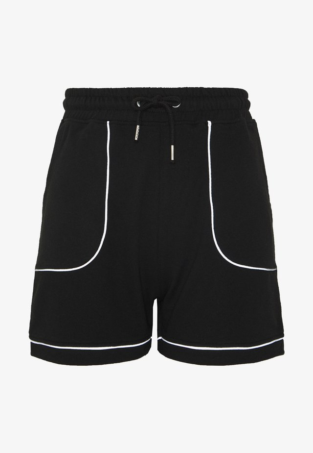 REFLECTIVE TRIM RUNNER - Shorts - black